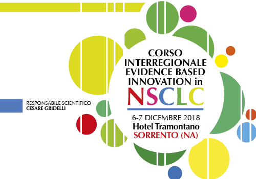 CORSO INTERREGIONALE EVIDENCE BASED INNOVATION  in NSCLC