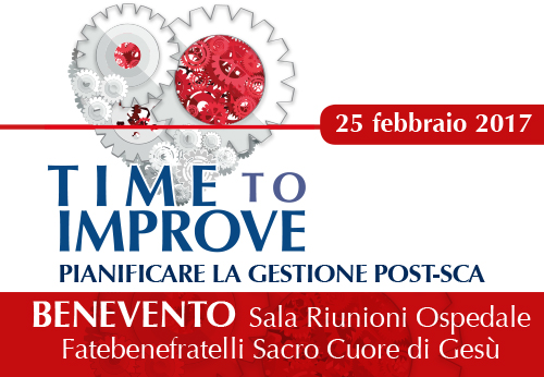 TIME TO IMPROVE: pianificare la gestione post-SCA