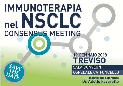 Immunoterapia nel NSCLC – Consensus Meeting